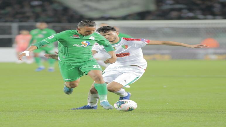 يضرب موعدا مع الإسماعيلي المصري الرجاء المغربي يتخطى مولودية الجزائر ويبلغ الدور نصف النهائي