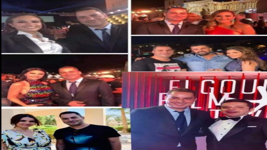 *إنذار لنقابة المهن التمثيلية لوقف ممثلين التقطوا صورًا مع فنان إسرائيلي ، أبرزهم هنيدي ودرة وأمينة خليل*