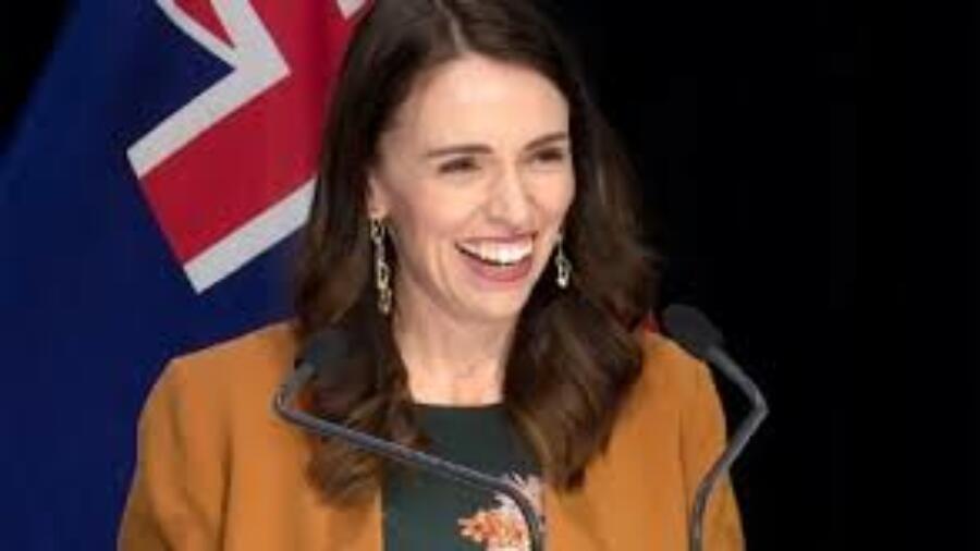 تهنئة بمناسبة اعادت انتخابها للمرة تانية ك: رئيسة وزراء نيوزيلندا