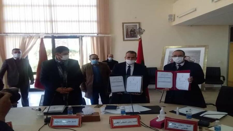 اقليم شيشاوة : المجلس الاقليمي لشيشاوة يعقد دورته العادية لشهر يناير 2021 و يصادق على اقتناء العقار واتفاقية شراكة مع القاضي عياض لإحداث نواة جامعية