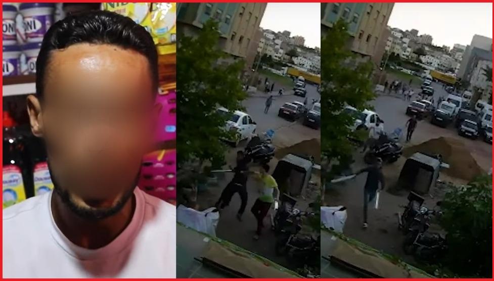 امن طنجة يتفاعل مع شريط فيديو حارس ليلي صرح انه تعرض للضرب والجرح والتهديد
