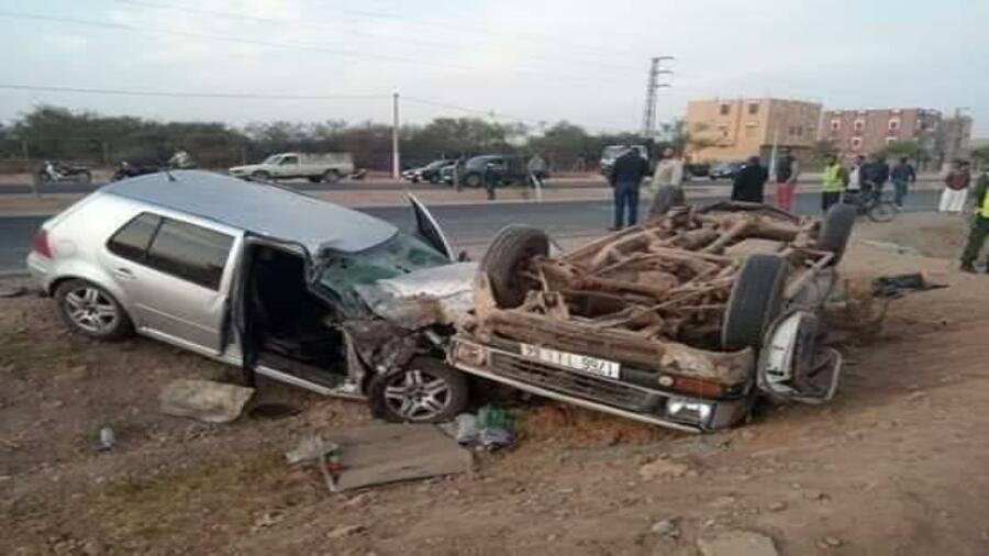 خطير حادثة سير مميتة باقليم تارودانت ترسل دركيا وعشرات العمال الزراعيين للمستشفى، وسيدة تلقى حتفها بعد الحادث المروع.