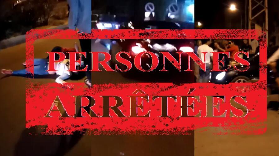 المديرية العامة للأمن الوطني ، تتفاعل بسرعة مع مقطع فيديو تداوله مستخدمو تطبيقات التواصل الاجتماعي