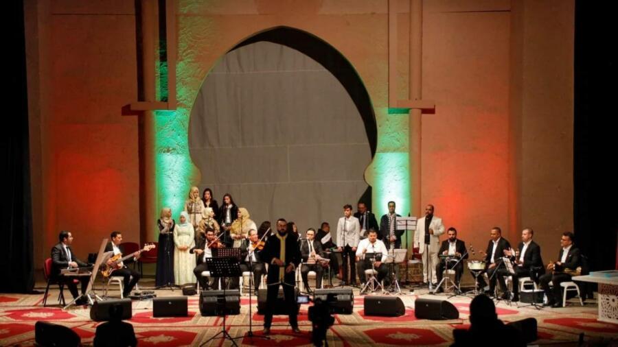 مهرجان الرسالة للأغنية العربية والروحية يسدل ستار دورته الثانية.