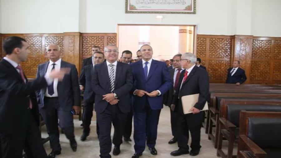 وزير العدل في زيارة لمقر محكمة الإستئناف بالعيون…