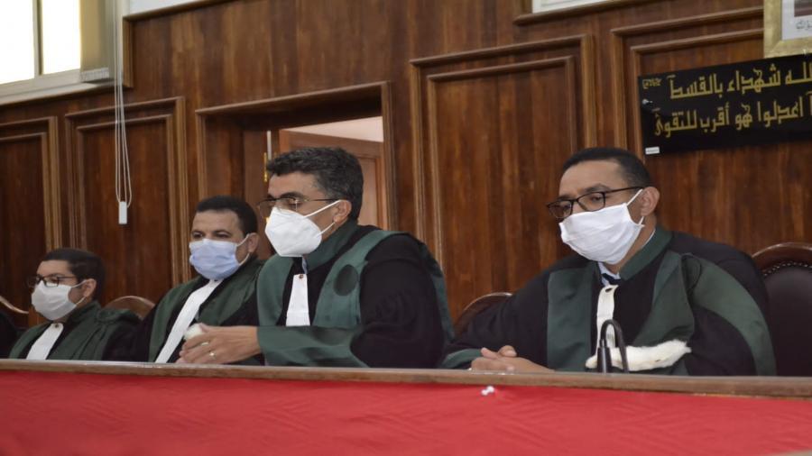 تعيين الرئيس المحكمة الجديد مراد سلطان خلف لي بوزكري دياني بحضور السيد عامل الإقليم و السيد باشا المدينة والسيدة رئيسة المجلس البلدي وعدة شخصيات.