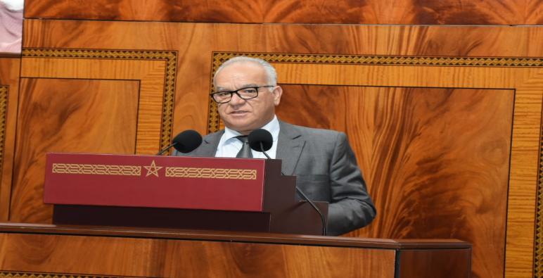 تدخل السيد نورالدين مضيان رئيس الفريق الااستقلالي للوحدة والتعادلية في مناقشة مشروع القانون المالي لسنة 2022