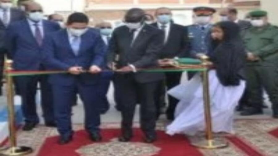 *(مجموعة الشباب الدبلوماسي والمجتمع المدني المرافعة عن مغربية الصحراء تهنئ القنصل العام لجمهورية زامبيا)*