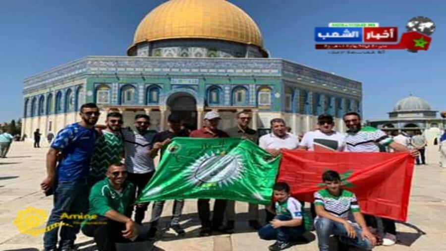 على أرضية ملعب فيصل الحسيني يحسن إستقبال الرجاء المغربي