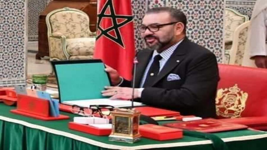 عاجل صاحب جلالة المٓلك محمد السادس، يترأس مجلساً للوزراء يوم غد الثلاثاء