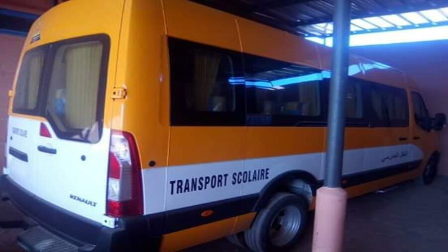زووم …سيارة نقل مدرسي ثانية من نصيب جماعة المزيلات…