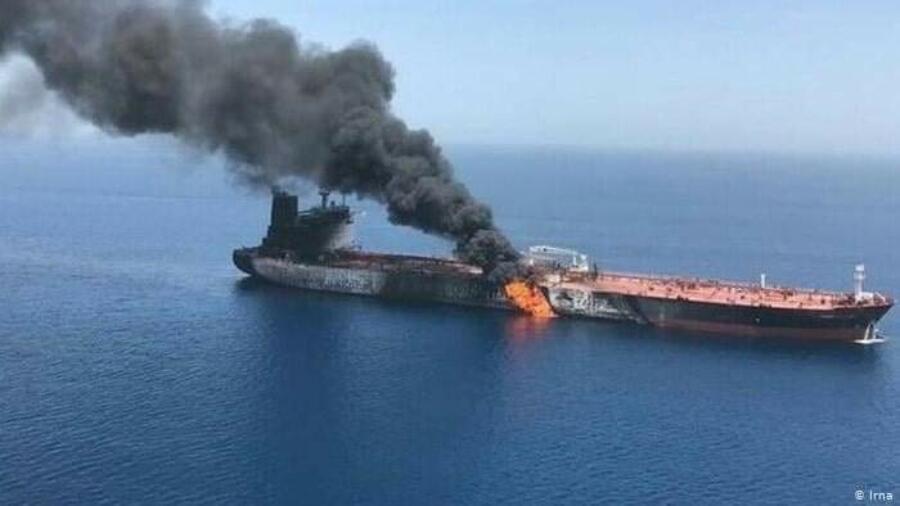 عاجل: انفجار في ناقلة نفط إيرانية