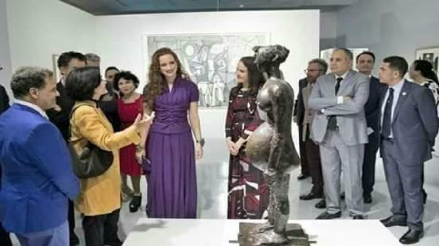 زززوم ….الأميرة لالة سلمى تزور متحف محمد السادس بالرباط….