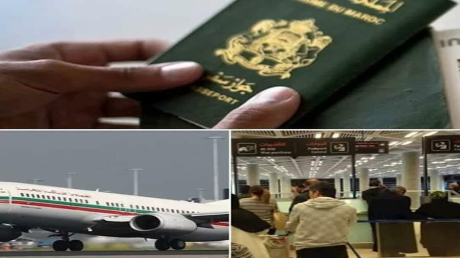 خطير. … منع مجموعة من المسؤولين من مغادرة التراب الوطني وسحب جوازات سفرهم.