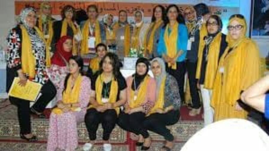 المكتب التنفيذي لمنظمة النساء الحركيات يعقد اجتماعه الاول
