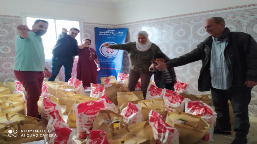 جمعية سفراء الخير تدخل الفرحة على مئات الأسر المعوزة