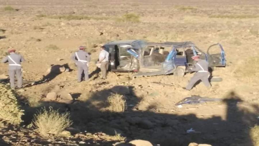 زاكورة..وفاة شخصين اثر حادثة سير