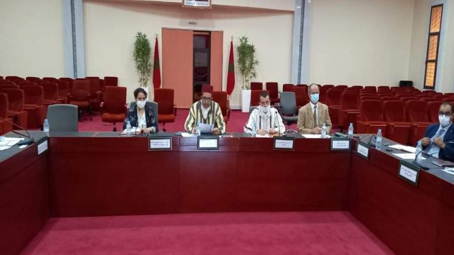زاكورة ..لقاء تواصليا من تنظم اللجنة الجهوية لحقوق الإنسان بجهة درعة تافيلالت تحت اشراف السيد عامل الاقليم