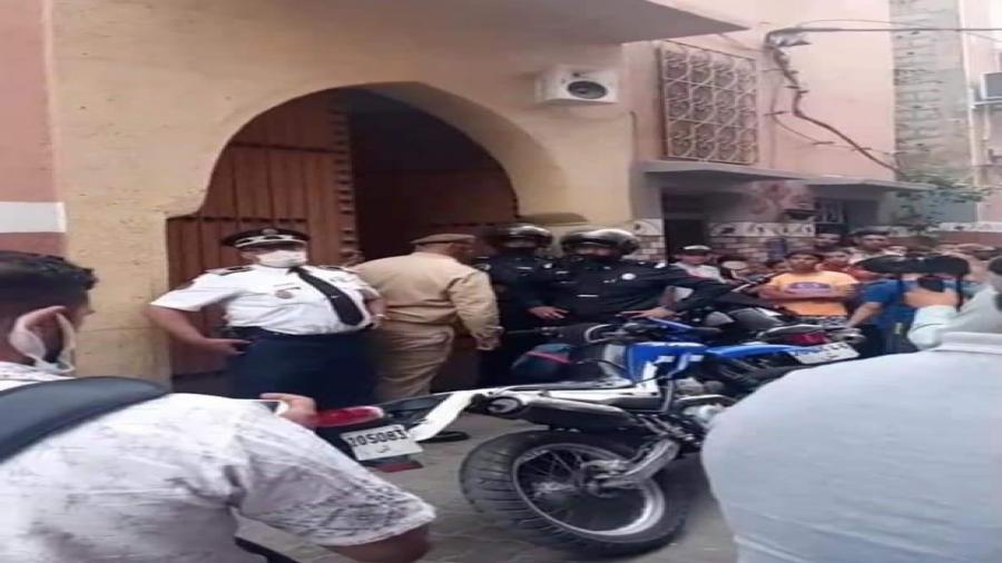 مؤسف وصادم جريمة قتل بشعة داخل مسجد بسيدي يوسف بن علي بمراكش