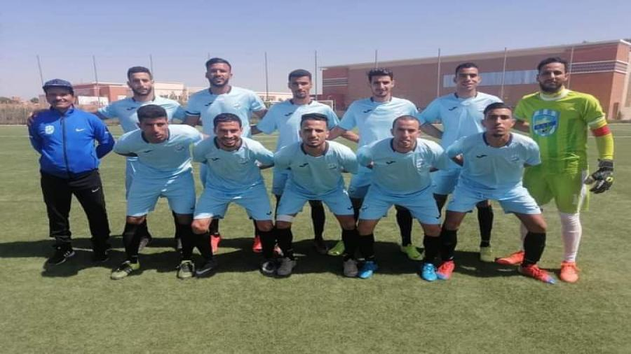 اقليم شيشاوة : الف مبروك فريق النهضة الرياضية شيشاوة لكرة القدم يذخل التاريخ من ابوابه الواسعة بتأهل الى الدوري الممتاز .