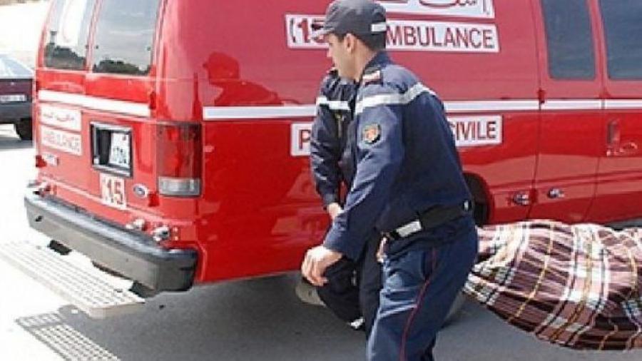 اقليم شيشاوة : أربعيني يلفظ أنفاسه الأخيرة بعد سقوطه من سيارة النقل السري بدائرة مجاط .