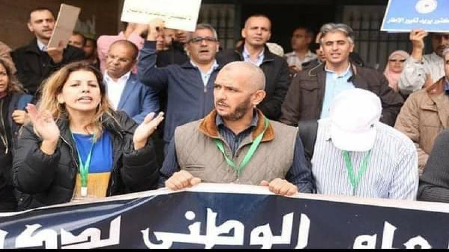 الدكاترة الموظفون يعودون بقوة ويعلنون عن اضراب وطني بجميع الوزارات