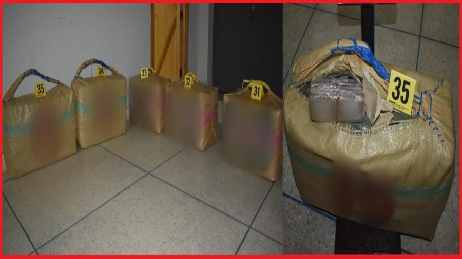 الحسيمة..إجهاض عملية للتهريب الدولي للمخدرات وحجز ما مجموعه 150 كيلوغراما من مخدر الشيرا.