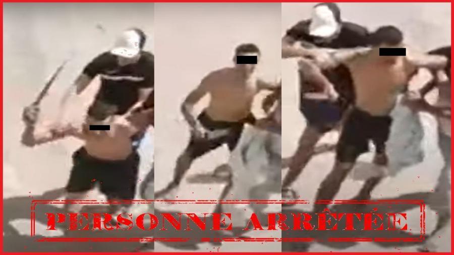 فاس..الامن يتفاعل مع مقطع فيديو يظهر قيام شخص يتحوز سلاحا أبيضا بإحداث الفوضى بالشارع العام،
