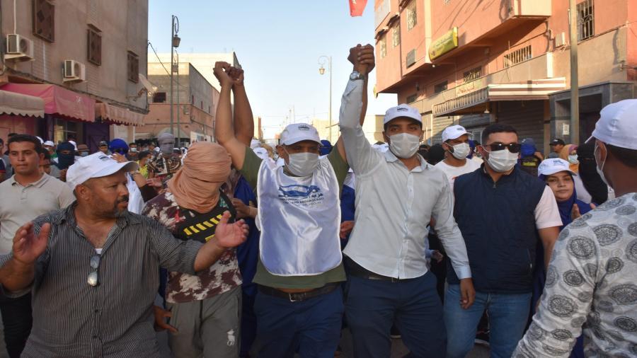 السيد لخليفة محمد فظلي وجه شاب يدخل غمار الإنتخابات الجماعية بالسمارة