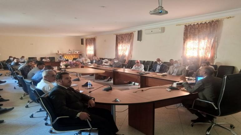 طاطا… لقاء تواصلي بالمديريةالإقليمية لوزارة التربية الوطنية والتعليم ألأولي من أجل النهوض على الصعيد الإقليمي بطاطا
