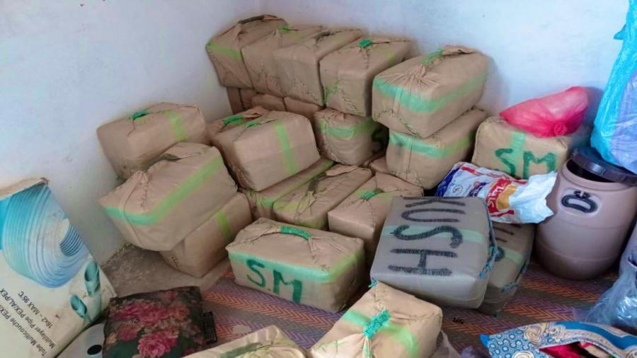 طانطان .. حجز أزيد من 6,5 أطنان من مخدر الشيرا وتوقيف خمسة أشخاص (بلاغ DGSN)