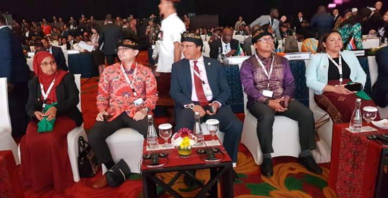 المغرب يشارك في المؤتمر الدولي حول البنيات الأساسية في إطار الحوار الذي يجمع دولة أندونيسيا بعدد من الدول الإفريقية