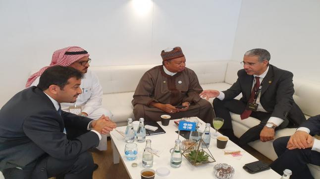 السيد عزيز رباح يلتقي الأمين العام لمنظمة الدول المصدرة للبترول اوبك