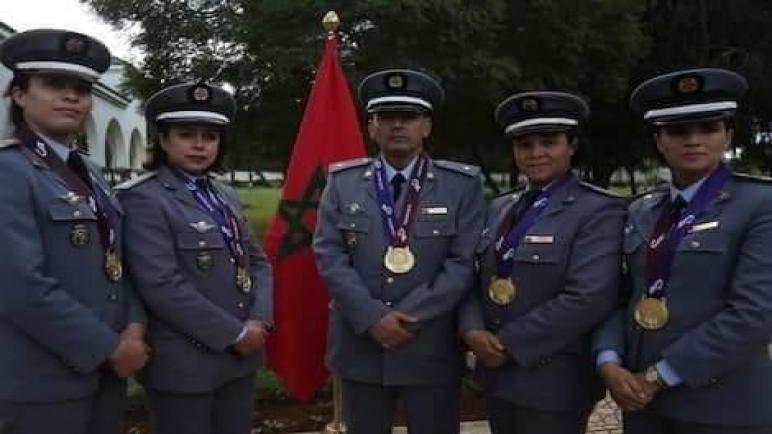 … احتفال كبير للقوات المسلحة الملكية المغربية بالأبطال المشاركين في الدورة السابعة للألعاب العسكرية بدولة الصين …