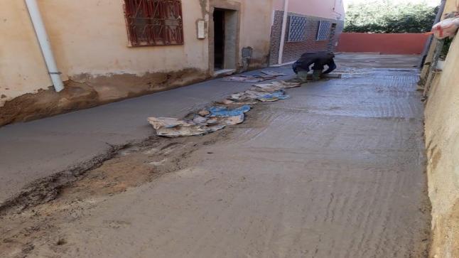 جرسيف.. سكان حي البطمة ينوبون عن مجلس المدينة