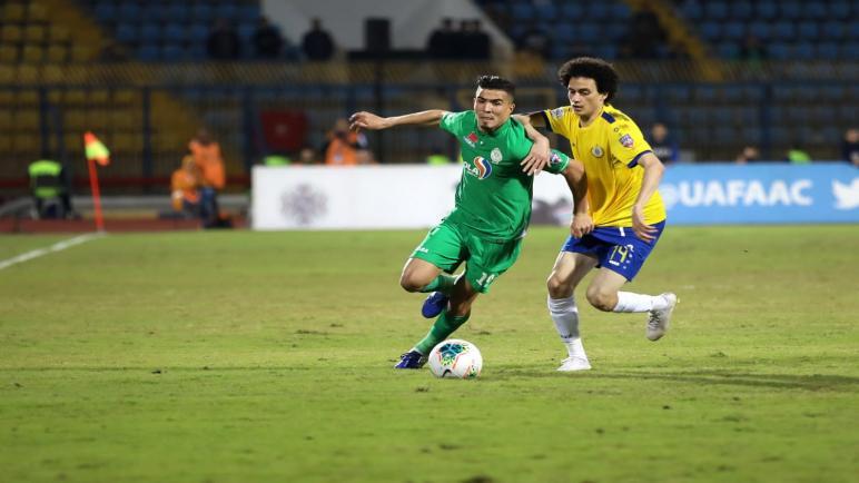 الإسماعيلي المصري يفوز على الرجاء في ذهاب نصف نهائي كأس محمد السادس