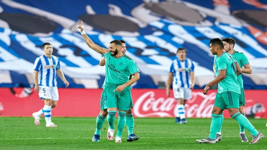 *ريال مدريد يكتفي بثنائية في شباك سوسيداد ويقتنص صدارة لا ليغا*