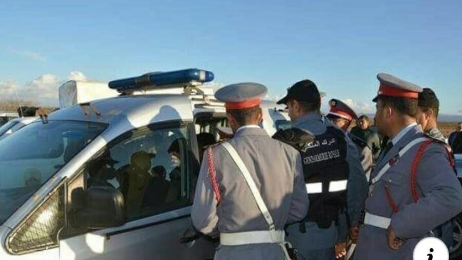 * غطرسة ضابط الشرطة لم يسلم منها حتى رجال الدرك الملكي *