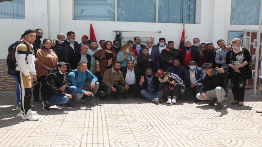 نقابة الصحافيين المغاربة تضع اللمسات الآخير لتأسيس جمعية الاعمال الاجتماعية.