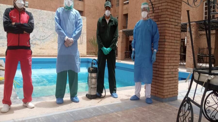 حساين حمادين: تحاليل العاملين بفندق وردة مكونة سلبية و على الجميع الالتزام بالحجر الصحي العام