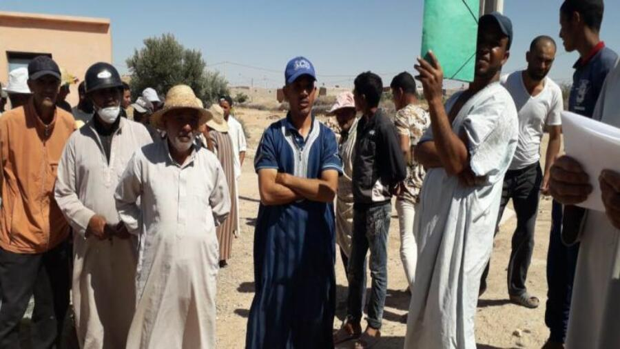 اقليم شيشاوة :ساكنة دوار اولاد الخادم جماعة المزوضية تعاني من أزمة العطش في زمن جائحة وباء كورونا .