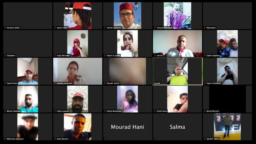 منظمة الطلائع – أطفال المغرب جهة الدار البيضاء سطات