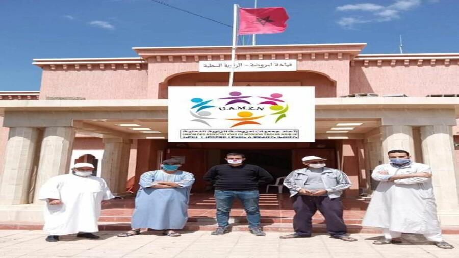 اقليم شيشاوة : حملة لإنجاز البطاقة الوطنية لفائدة تلاميذ وتلميذات المستوى الأولى والثانية بكالوريا بقيادة امزوضة الزاوية النحلية.