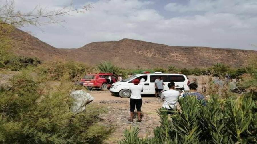 حصيلة ثقيلة لضحايا وادي درعة بغرق ثلاثة أشخاص اليوم.