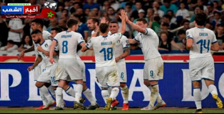"""المنتخب الإيطالي وحكاية الرقم """"7"""" بنهائيات اليورو2020 €"""
