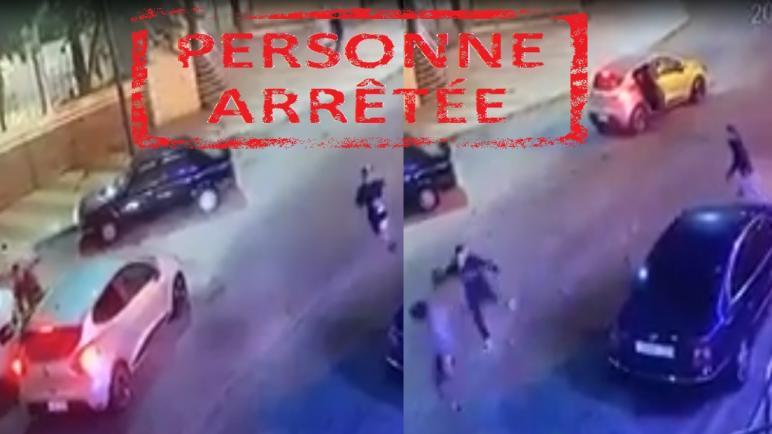 العيون..ايقاف شخص ظهر في شريط فيديو على مواقع التواصل الاجتماعي، وهو يحمل سكينًا ويعرض أحد الضحايا للضرب والجرح.