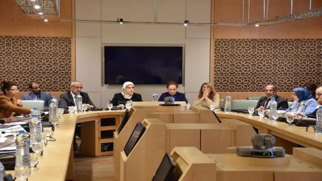 مناقشة الميزانية الفرعية لوزارة التضامن والتنمية الاجتماعية والمساواة والأسرة