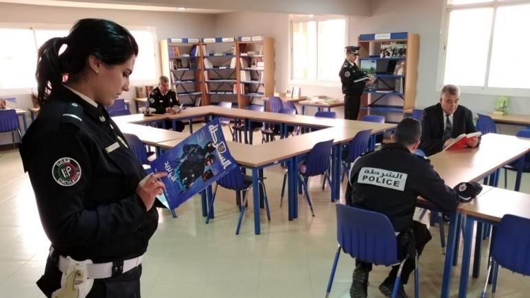 وجدة..افتتاح مكتبة ولائية لفائدة موظفي الشرطة