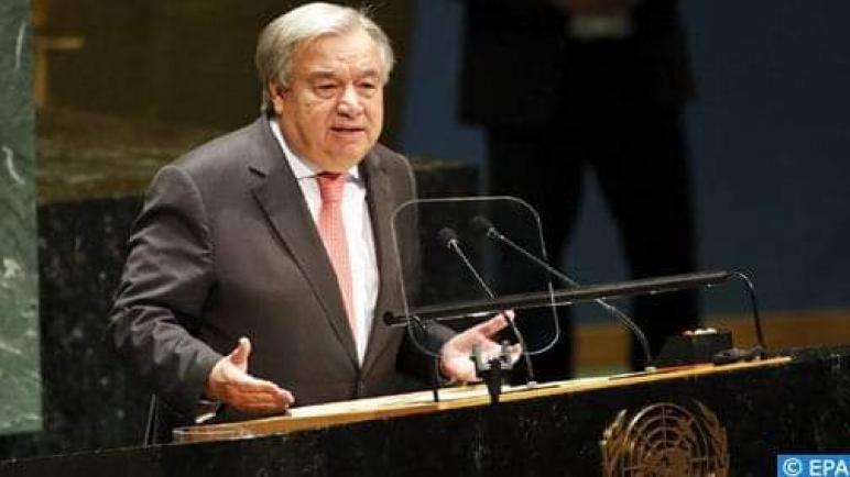 """الصحراء المغربية.. الأمين العام للأمم المتحدة يطالب ب """"السماح بمرور حركة مدنية وتجارية منتظمة"""" بالكركرات"""