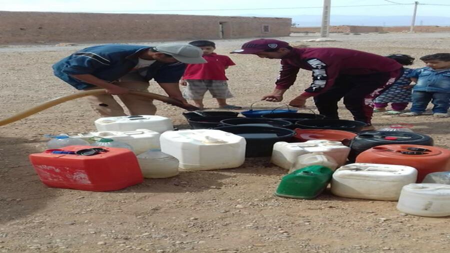 اقليم شيشاوة : ندرة الماء تؤرق بال ساكنة دوار بوعنكة جماعة سيدي محمد الدليل .